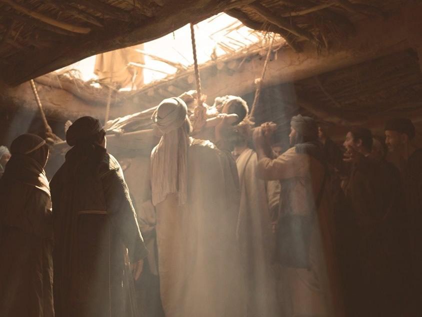 """""""O Filho do Homem tem poder de perdoar pecados"""""""
